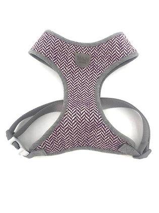 Hugo & Hudson Purple Herringbone Harness XS-L