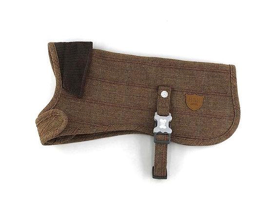 Hugo & Hudson Brown Check Tweed Jacket XS-XL (HHTJ10011)
