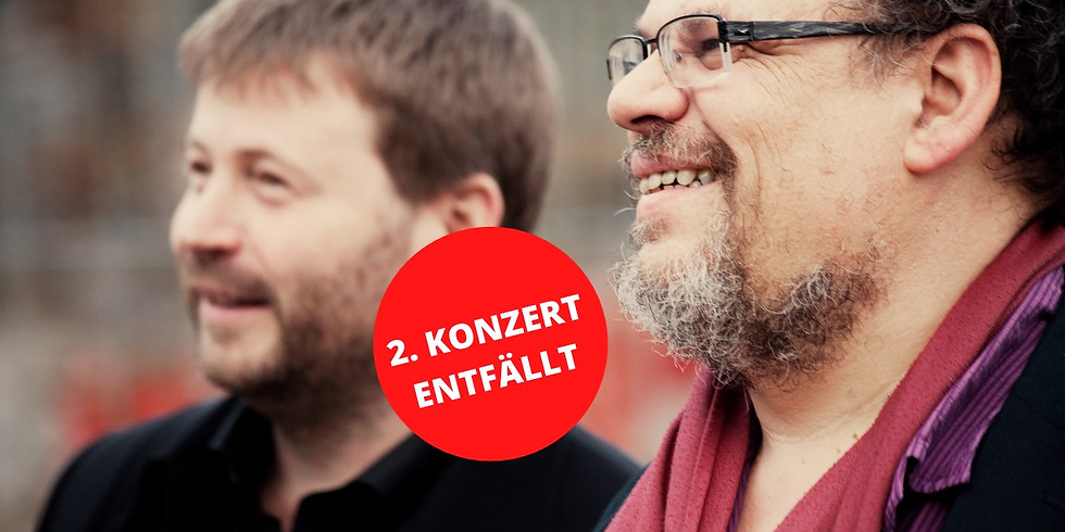 ++ 2. KONZERT ENFÄLLT ++ Michel Godard & Patrick Bebelaar  21.00 h