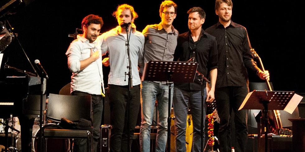 """people"" The Jazz Quintett   Jazz im Quadrat - Hautnah Entdeckungen"