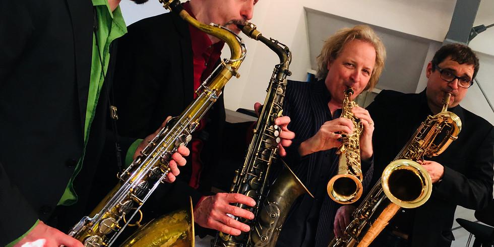 Finefones Saxophone Quartet feat. Jim Snidero  Ella & Louis