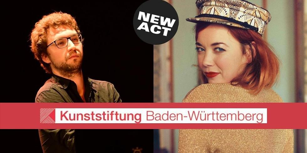 Kunststiftung BW präsentiert: Magdalena Ganter & Antoine Spranger | 21.15 h