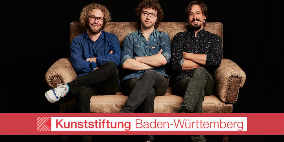 Antoine Spranger Trio | Kunststiftung BW präsentiert - Teil 1 | 19.00 h