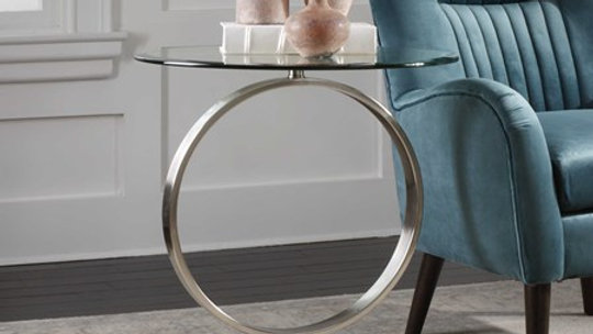 Dixon accent table
