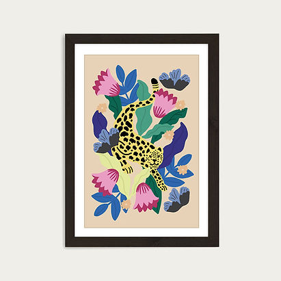 Jungle_Leopard_Art_Print_Black_Frame_1.j