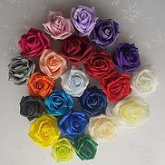 Artificial Wedding Flowers  Foam Rose Co