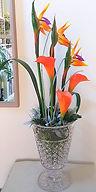 Silk Flower Arrangement Bespoke Floral D