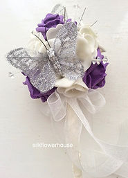 Flower Girl Wand with Crystals and Butte