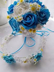 Artificial Wedding Flowers Flower Girl P