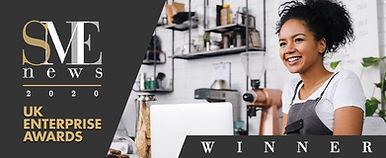 SME News 2020 UK Enterprise Awards Winne