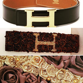 Silk Funeral Flowers Hermes Belt