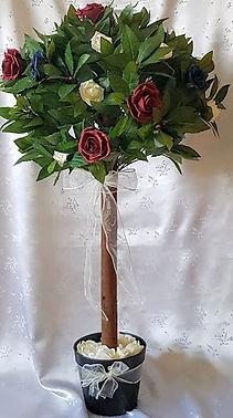 Artificial Flowers Rose Wedding Flower Tree.jpg