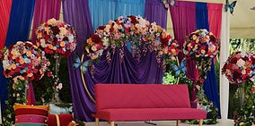 Artificial Wedding Flowers Indian Wedding Butterfly Mystic Theme .jpg