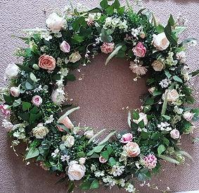 Artificial Wedding Flowers Floral Wedding Chandelier Decor .jpg