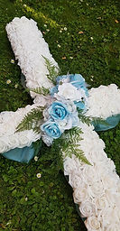 Artificial Flowers Funeral or Grave Trib