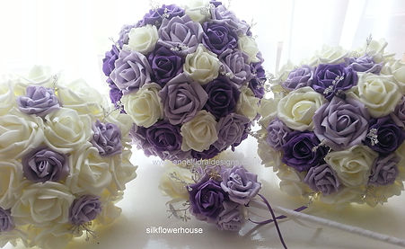 Artificial Wedding Flowers Bouquets
