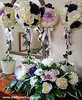 Silk Flower Trees, Silk Flowers Top Tabl