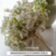 Artificial Flowers Bridesmaids and Flowe