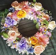 Artificial Flowers Mixed Pastel Wreath.jpg