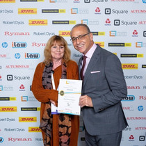 Theo Paphitis Gill Bestwick SBS Award