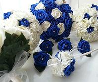 Artificial Roses Wedding Flowers Royal B