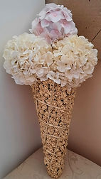 Artificial Flowers Funeral Tribute Ice C