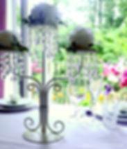Candelabra Wedding Centrepiece