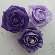 Artificial Wedding Flowers Puple, Lilac