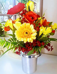 Artificial Flowers for Grave Bright Summer Flowers .jpg
