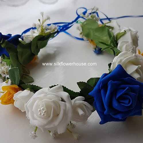 FLOWER GIRL HAIR CROWN Design Your Own