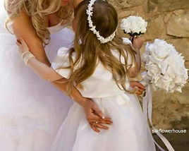Mother and Daughter Bridal Bouquet and F