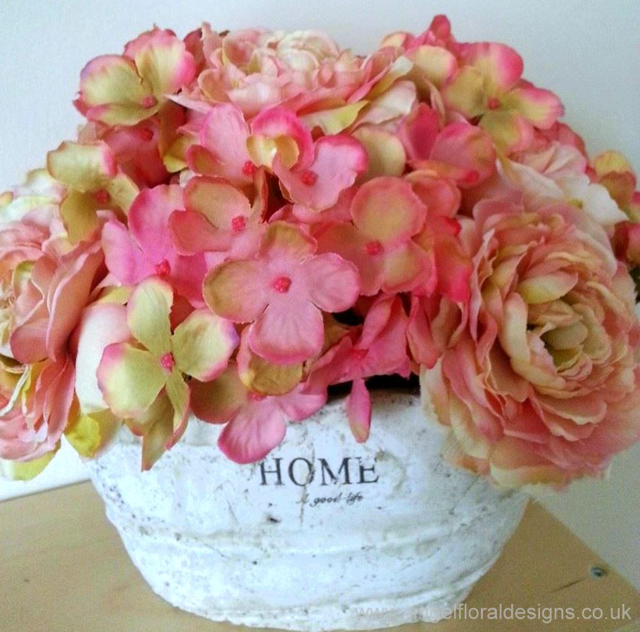 Silk Flowers for Home Decor