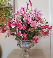Large Silk Flower Arrangements