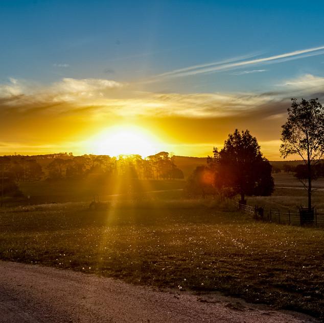 Oberon Sunset