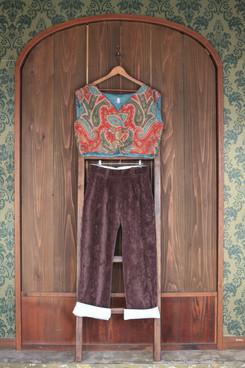 gilet & classic pants