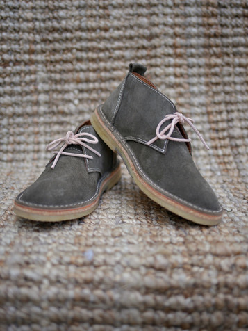 Suede Boots Anthracite