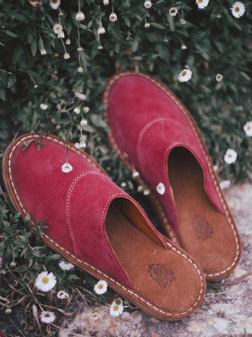 Chaussons Fraise