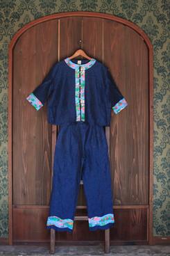 chemise knots & classic pants