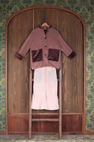 fisherman coat & classic pants