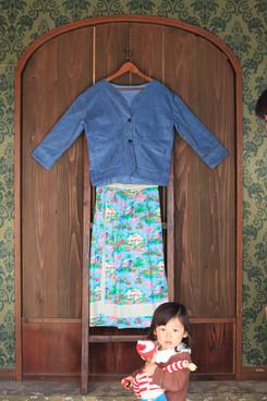 sweet veste & romatinc skirt