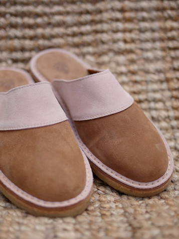 Chaussons Camel Rose