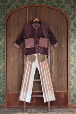 fisherman coat + gypsy pants