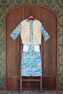 chemise knots & skirt pratik