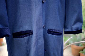 Manteau Tunique Marine