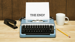 First draft finished: it's just the beginning