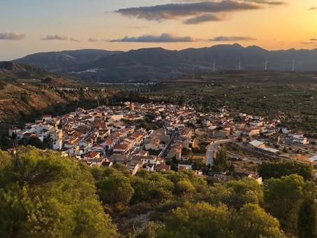 Nigüelas.  Hoy os recomendamos la visita a este precioso pueblo del Valle de Lecrín.