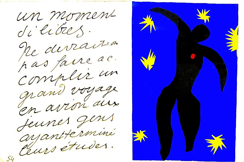 Henri Matisse, Icare, Jazz, 1947