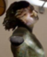 Satyre de Mazara del Vallo, Statue de bronze, Musée du Satyre, Mazara del Vallo, Sicile (Italie).