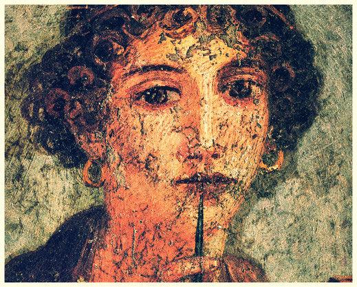 Fresque de Sappho