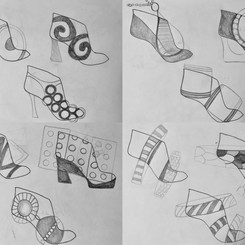 Nostalgia – First shoe collection in university